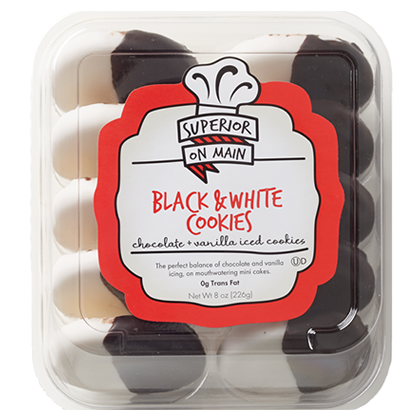 package of Black and White Cookies