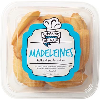 package Madeleines Cookies
